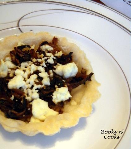 Caramelized Onion & Feta Tartlets