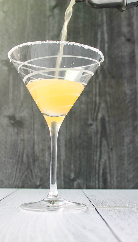 Slightly sweet and slightly tart, this Citrus Martini showcases beautiful winter fruits in a light and refreshing cocktail.