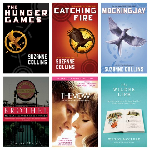 2012 Readers Choice Books