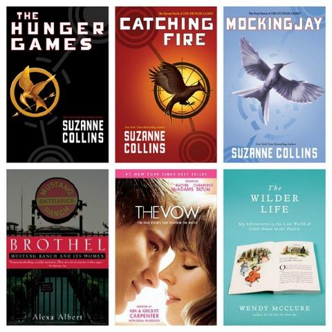 2012 Readers Choice Books