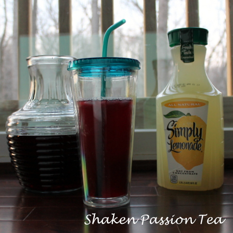 Shaken Passion Tea