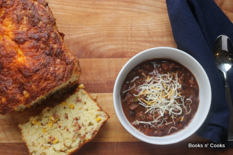 Manly Meaty Chili & Bacon Corn Bread