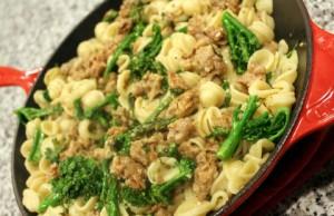 Orecchiette with Sausage and Broccoli Rabe 4