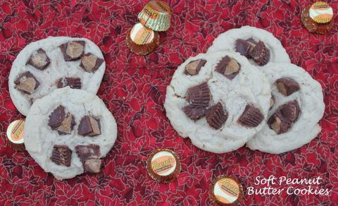 Soft PB Cookies