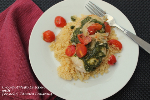 Pesto Chicken with Couscous 3