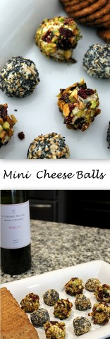 Mini Cheese Balls - Two Ways