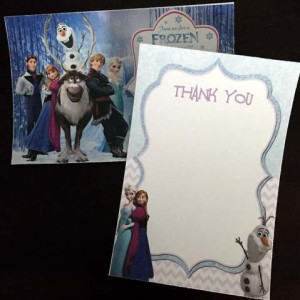 Invitations and Thank you Notes