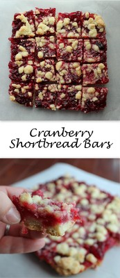 Cranberry Shortbread Bars_Pint