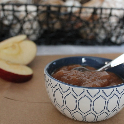 Slow Cooker Cinnamon Apple Sauce