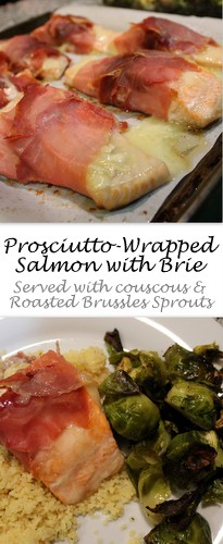 Prosciutto Wrapped Salmon and Brie by Books n' Cooks