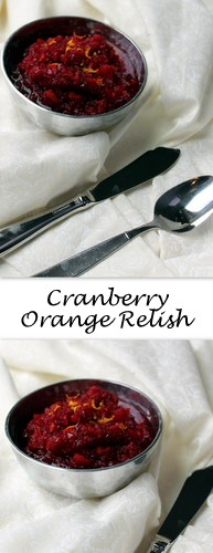Cranberry Orange Relish on Books n' Cooks