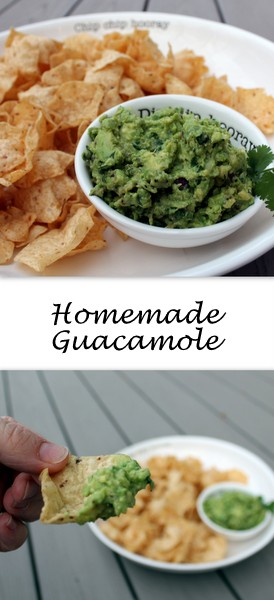 Homemade Guacamole - Creamy avocado, tart lime and spicy (or mild) jalapeno quickly come together to make an addictive dip, sandwich spread, or topping for your next Mexican night in.