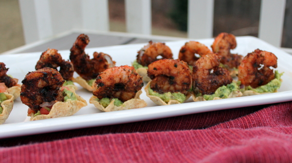 Jerk Shrimp & Avocado Bites