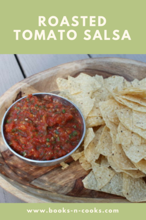 Garden fresh tomatoes, onions, and jalapenos are charred before being pureed into a smokey, simple Restaurant-Style Roasted Tomato Salsa.