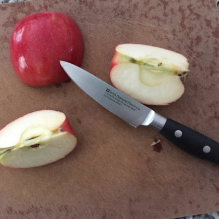 AppleWeek - Swiss Diamond Paring Knife