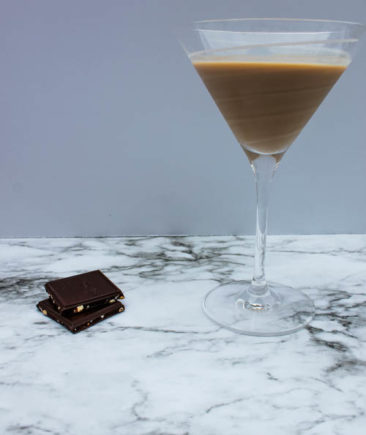 The Bailey's Chocolatini is a sweet, slightly creamy cocktail - delicious as an after dinner beverage.