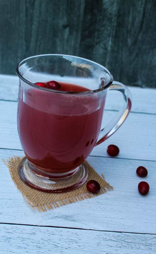 Cranberry-pomegranate cider is a sweet twist on a homey classic. Make a single serving for a quiet afternoon or a batch in the slow cooker for winter entertaining.