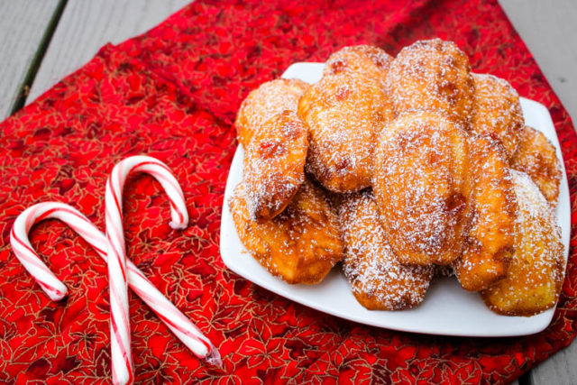 These Peppermint Madeleines are slightly sweet, lightly pepperminty cake-like cookies that just feel like Christmas.