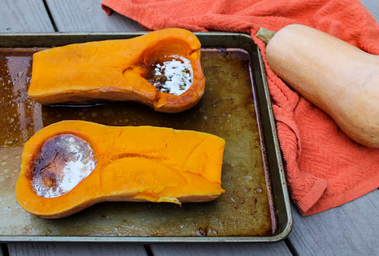 Mom's Roasted Brown Sugar Butternut Squash: Sweet butternut squash gets a little sweeter as it's roasted and then served with butter and brown sugar, making for an easy, irresistible fall side dish.