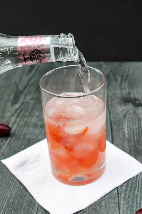 A customizable, 3-ingredient cocktail made from ingredients you likely always have on hand, this Gin & (Cranberry Orange) Jam Cocktail is a refreshing fall sipper.
