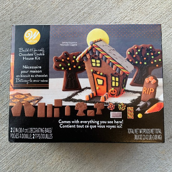 Halloween Dessert Board - Show Stopping Piece: The Chocolate Haunted House - Desserts boards, like cheese boards, are all the rage right now, so why not a Halloween Dessert Board? Filled with homemade, semi-homemade, and store-bought sweets, this Halloween Dessert Board has something for everyone.
