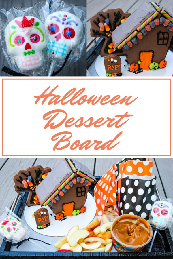 Desserts boards, like cheese boards, are all the rage right now, so why not a Halloween Dessert Board? Filled with homemade, semi-homemade, and store-bought sweets, this Halloween Dessert Board has something for everyone.