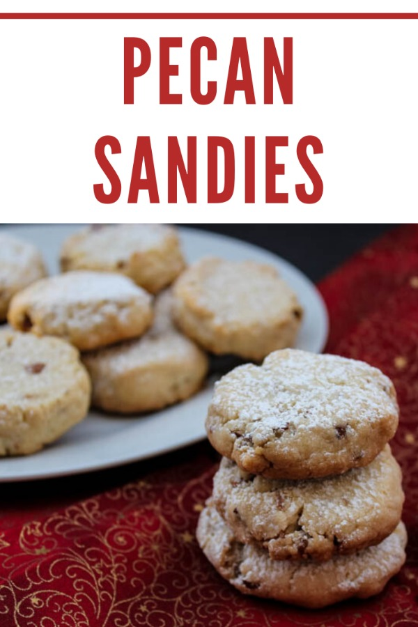 Melt-in-your-mouth buttery Pecan Sandies are a classic sweet treat, not just for the holidays but for all year round.