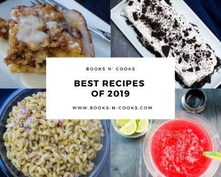 Books n' Cooks Best Recipes of 2019