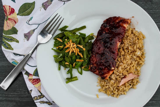 This bright and flavorful 4-ingredient Raspberry Chipotle Salmon is a weeknight lifesaver. Less than 5 minutes of prep and it cooks in just 10 minutes.